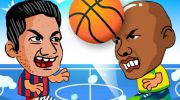 2 Player Head Basketball