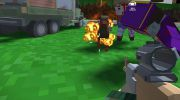 Blocky Zombie And Vehicle Shooting