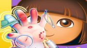 Dora Hand Doctor Fun Games for Girls Online