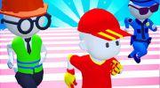 Knockout Fall Guys 3D Run - Royale Race